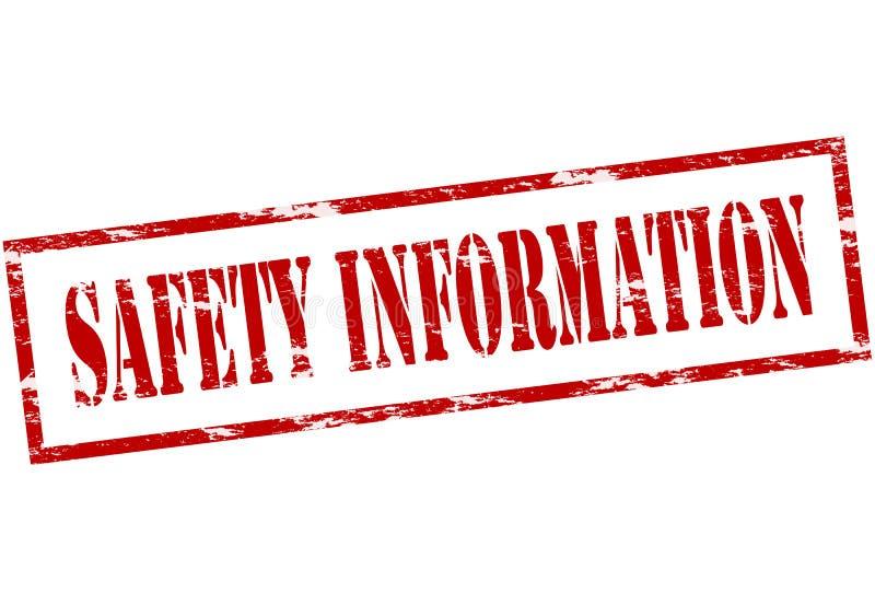 安全信息 向量例证