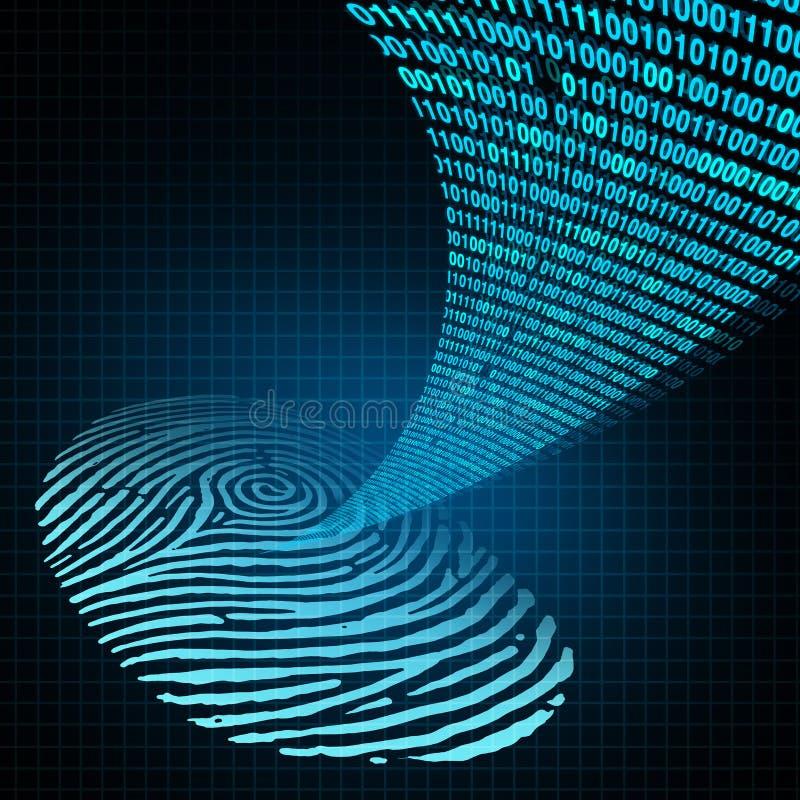 安全密码 库存例证