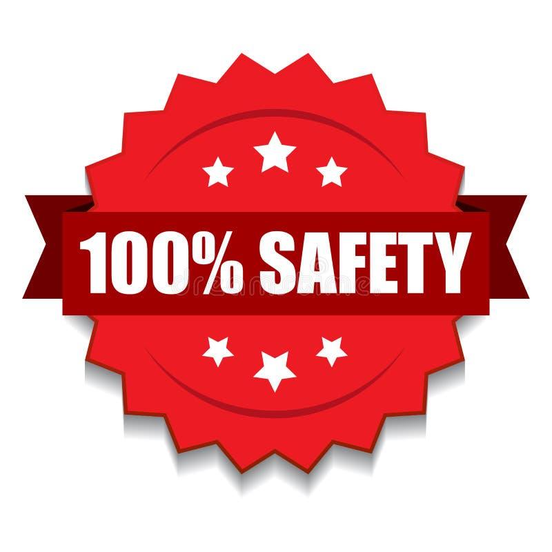 100%安全封印 皇族释放例证