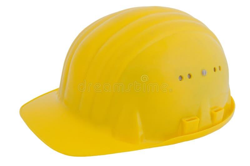 安全帽黄色 免版税图库摄影