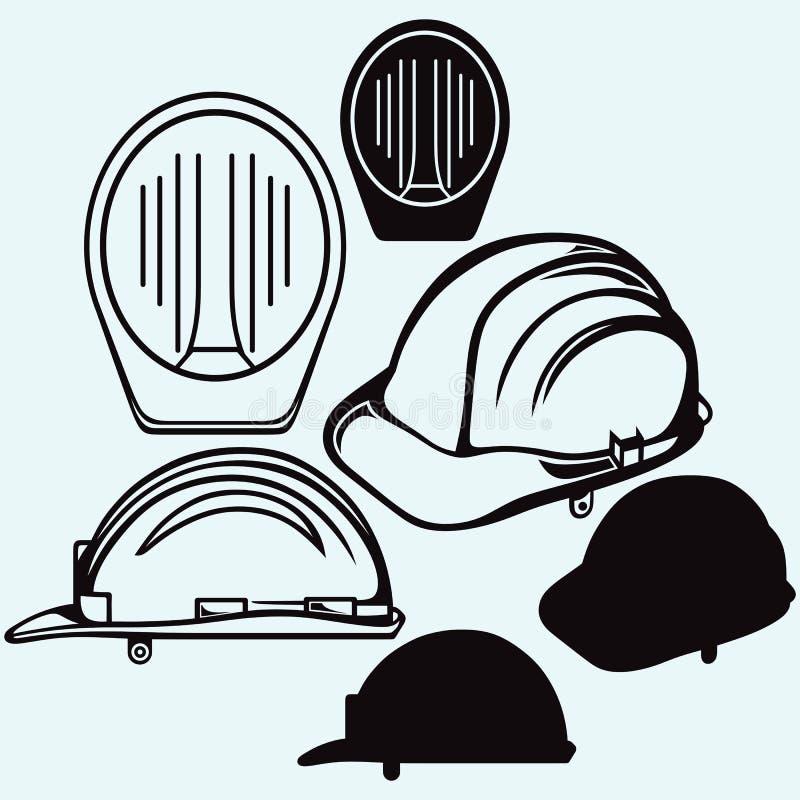 安全帽 皇族释放例证