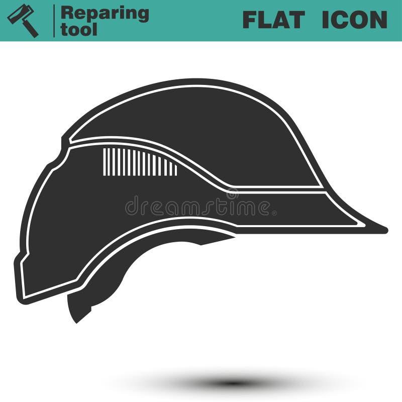 安全建筑盔甲 安全帽象的传染媒介例证 皇族释放例证