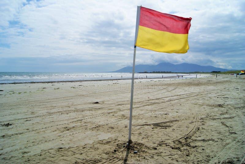 安全海滩 免版税库存照片