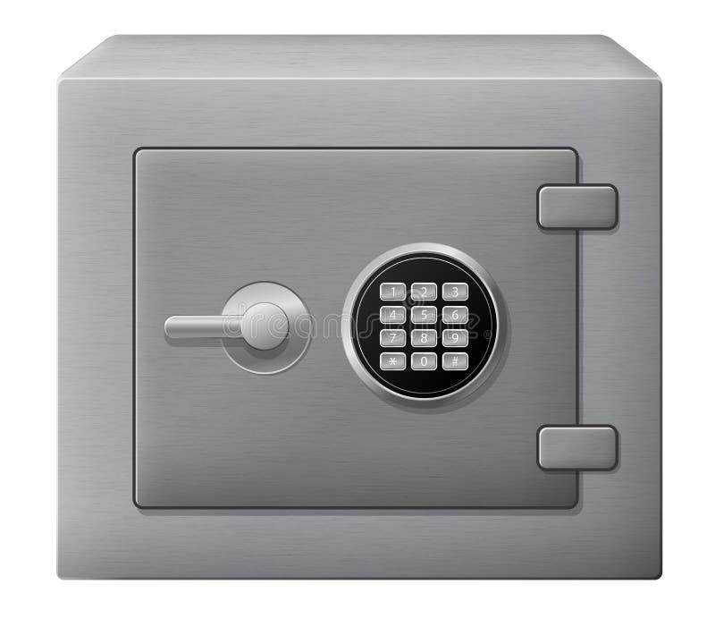 安全的配件箱 皇族释放例证