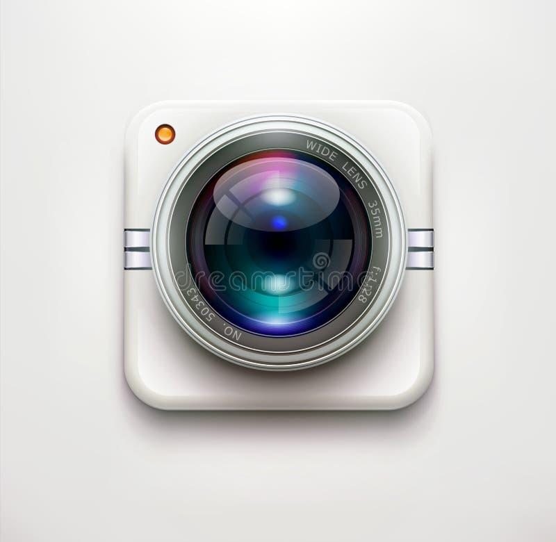 安全监控相机 库存例证