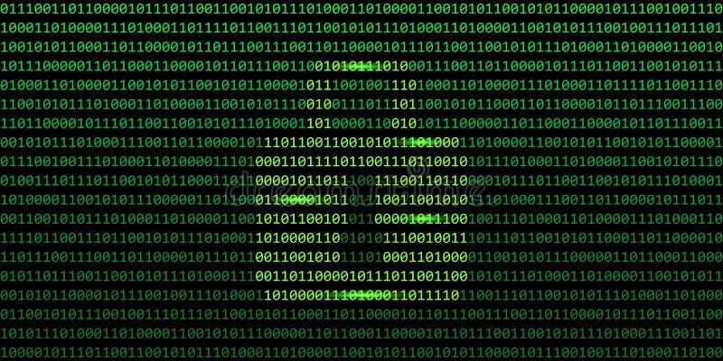 安全网连接二进制编码有锁背景 库存例证