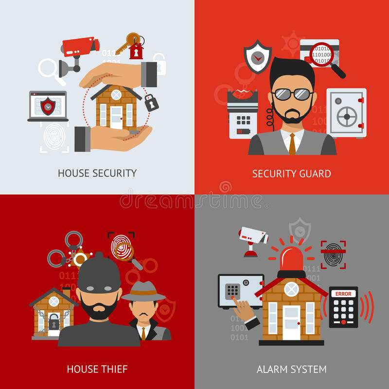 安全设计观念 向量例证