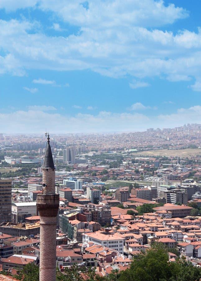 安卡拉城堡 免版税图库摄影