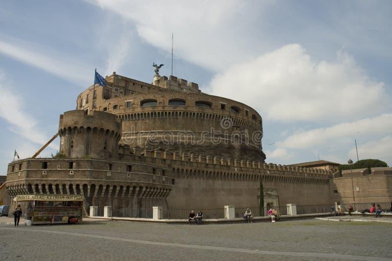 安吉洛城堡意大利罗马圣徒 库存照片