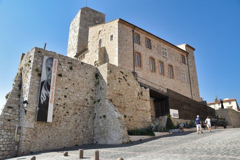 安地比斯法国博物馆毕加索 免版税库存图片