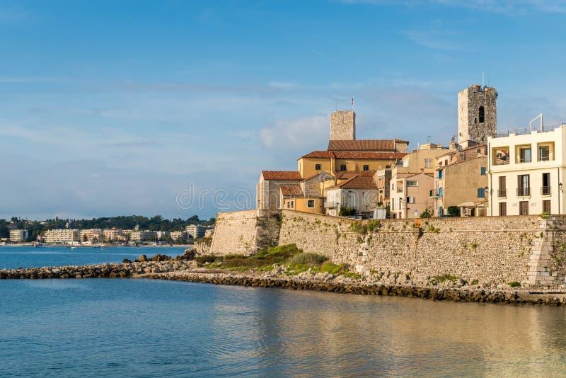 安地比斯,彻特d ` Azur,法国 图库摄影