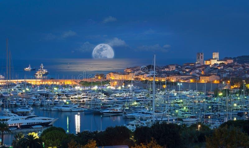 安地比斯,法国海滨,彻特d Azur 免版税图库摄影