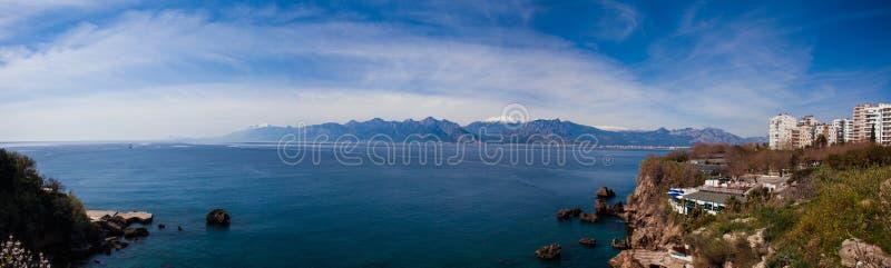 安塔利亚海湾,土耳其 免版税图库摄影