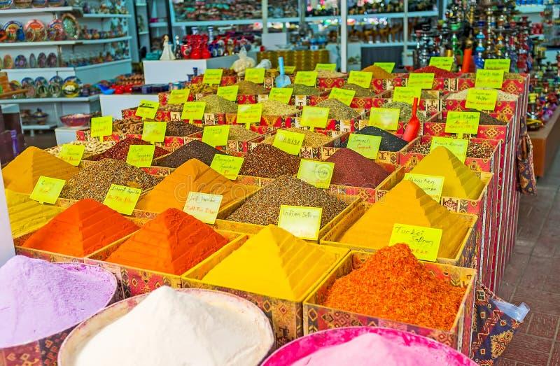 从安塔利亚的香料 免版税库存照片