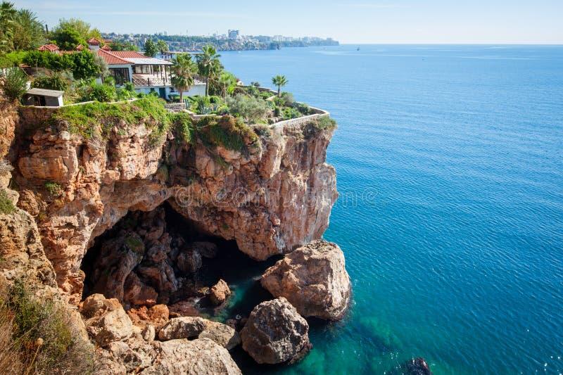安塔利亚,土耳其海岸  图库摄影