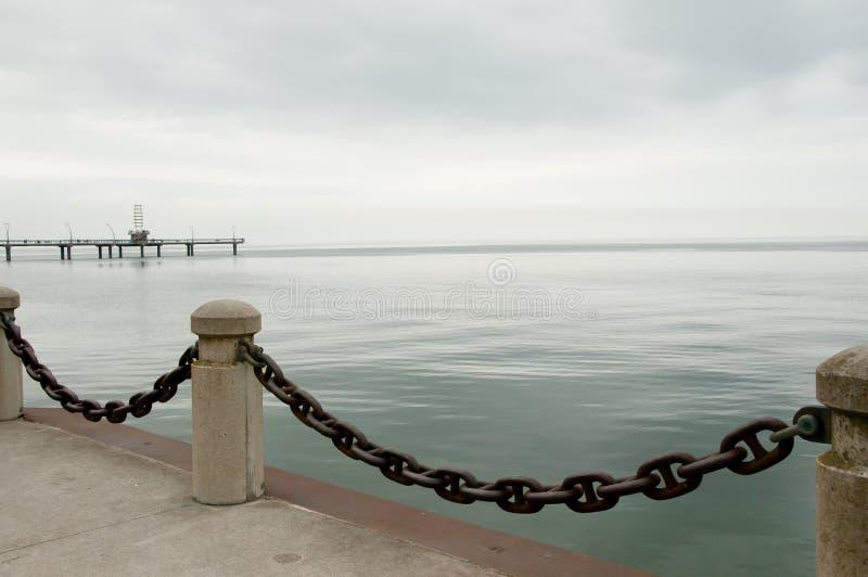 安大略湖-伯灵屯-加拿大 免版税库存照片