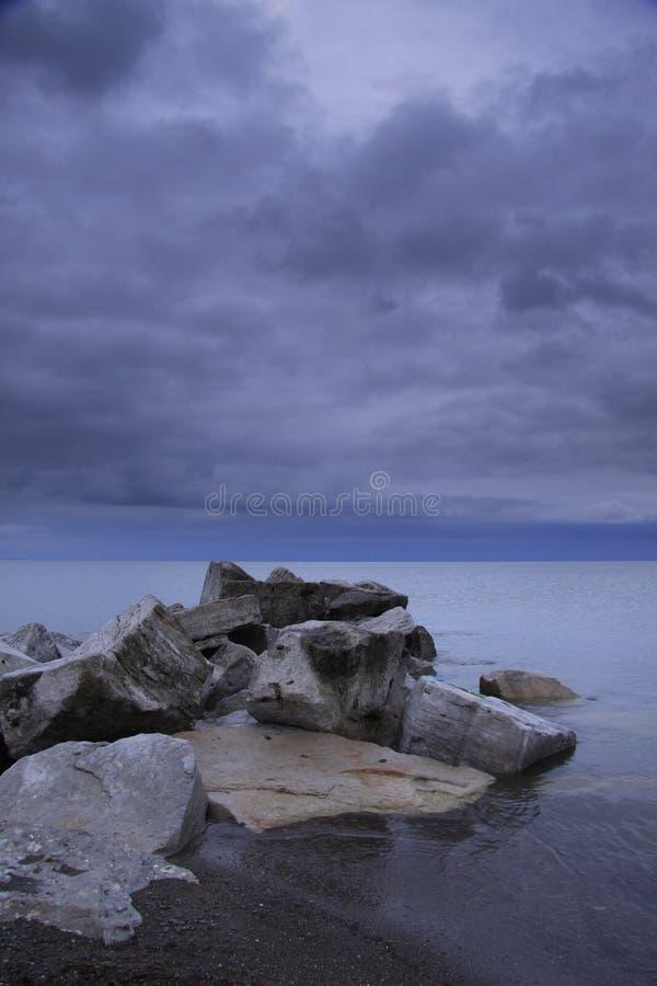 安大略湖 库存照片