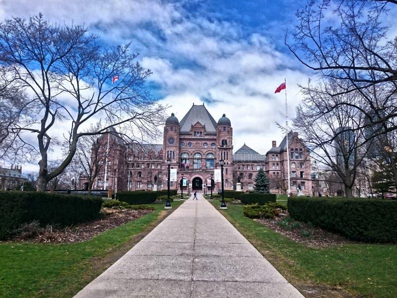 安大略省省议会 库存图片