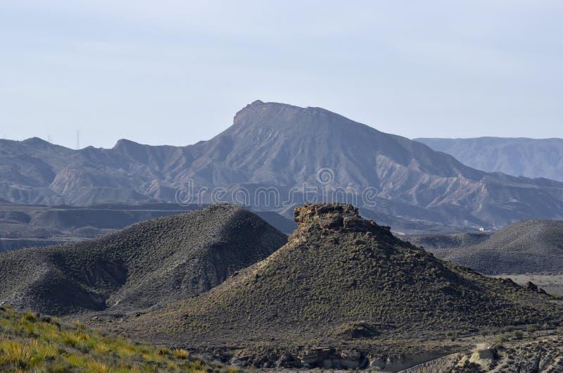 安大路西亚沙漠 免版税库存图片