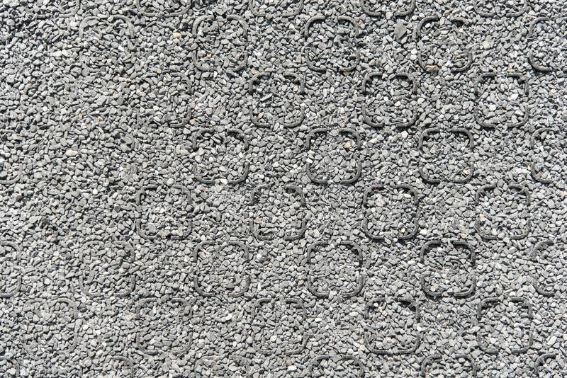 安定器石渣的塑料 免版税库存照片