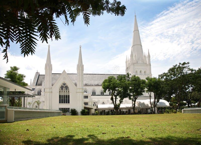 安德鲁大教堂s st 免版税库存图片