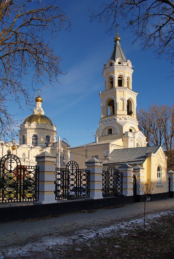 安德鲁大教堂st stavropol 免版税库存照片