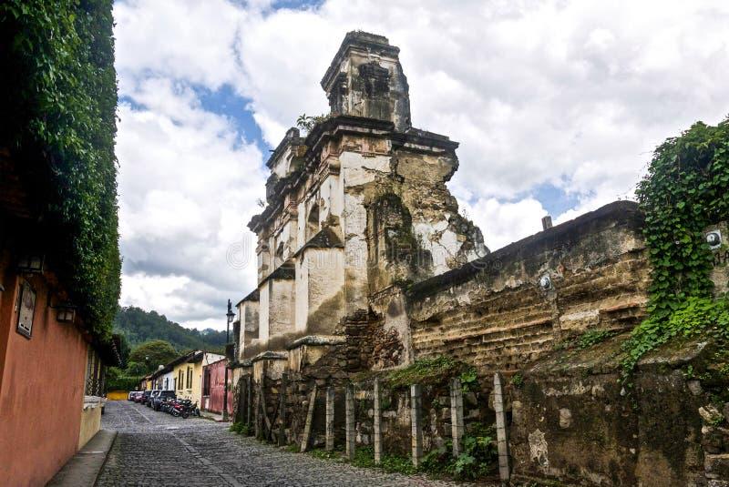 安提瓜岛危地马拉 图库摄影