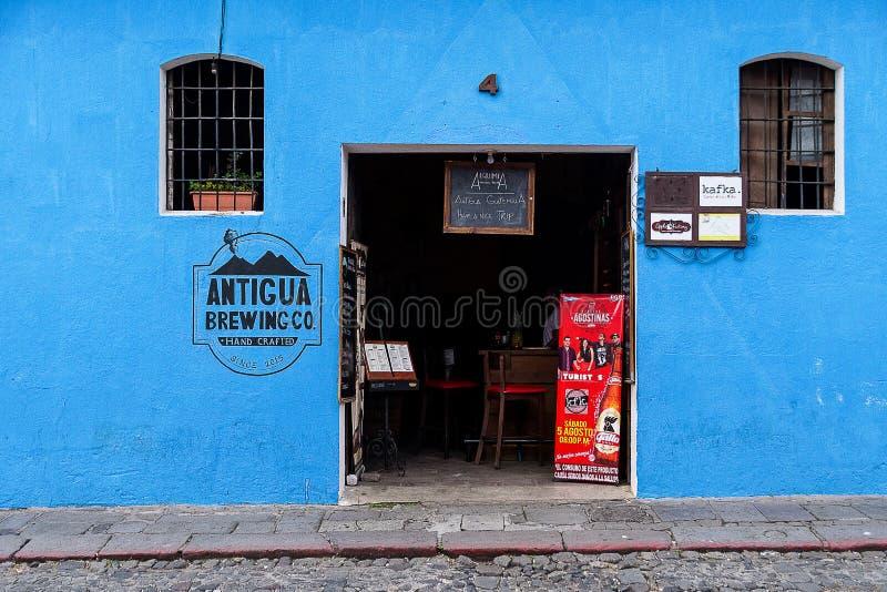 安提瓜岛` s自己的Microbrewery 免版税库存照片