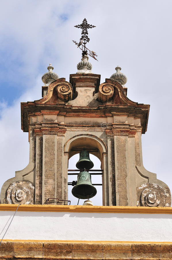 安提瓜岛bell brica de f tabacos塔 免版税库存照片