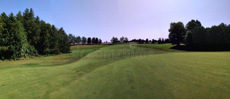 安格斯幽谷高尔夫球场 免版税库存照片