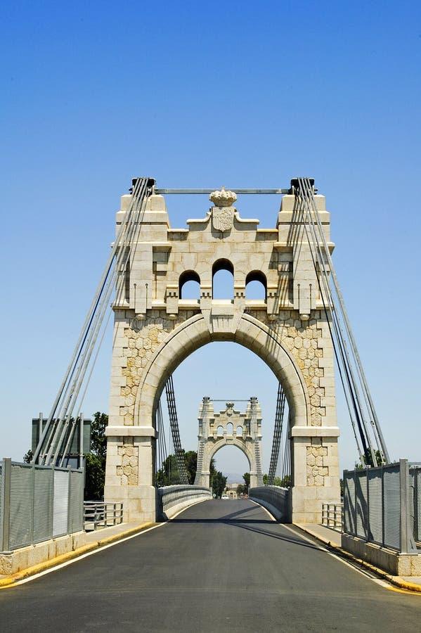 安波斯塔桥梁西班牙 库存照片