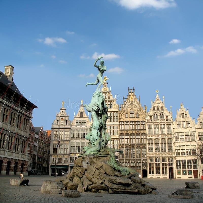安特卫普比利时 免版税库存图片