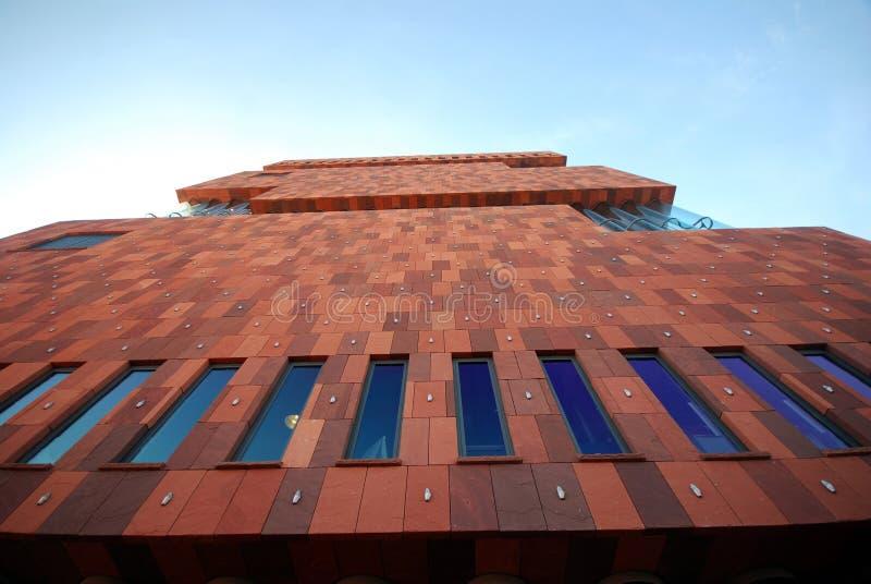 MAS博物馆在安特卫普 免版税库存照片