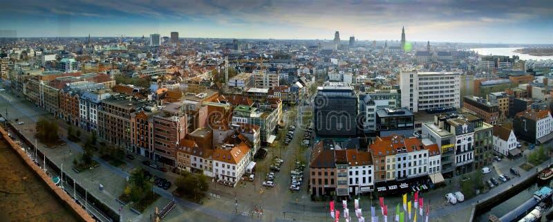 安特卫普,比利时2015年 库存图片