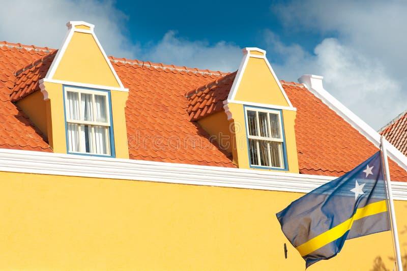 安的列斯群岛curacao荷兰语 免版税库存照片