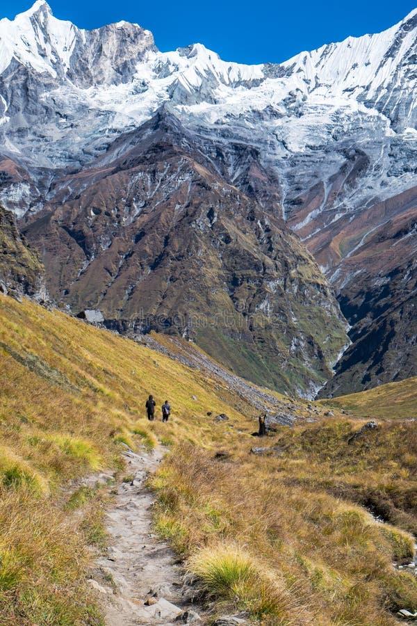 安纳布尔纳峰保护地区 免版税库存照片
