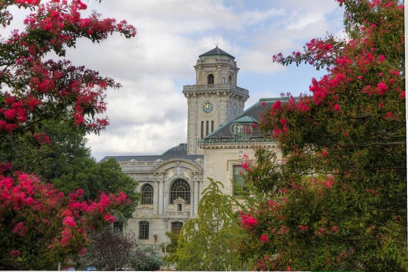 安纳波利斯学院大厦 免版税库存照片