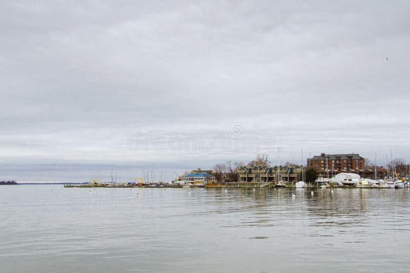 安纳波利斯小游艇船坞 库存照片