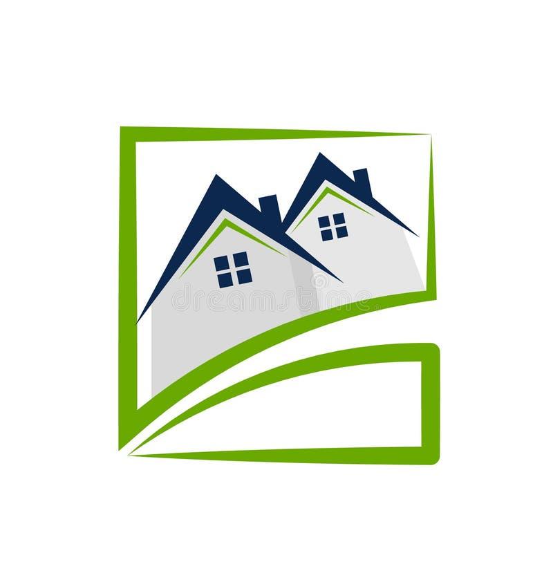 安置房地产 库存例证