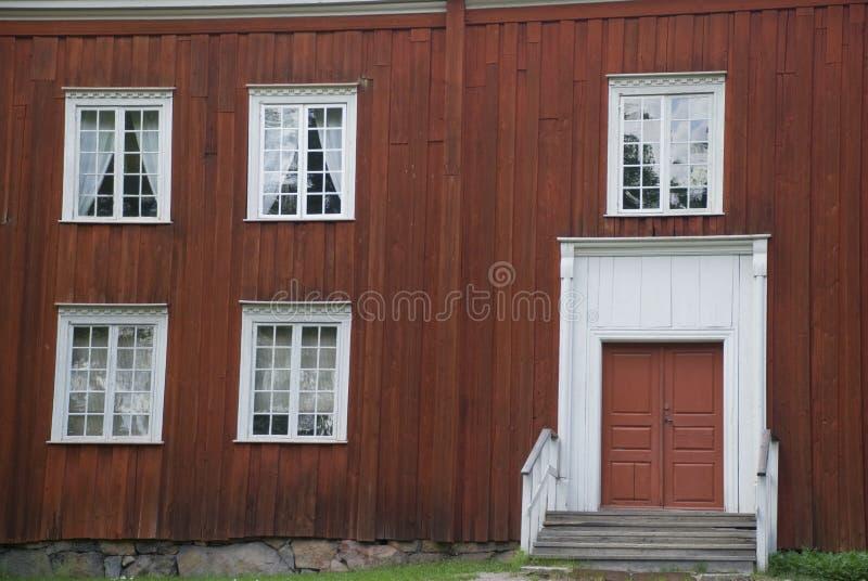 安置红色斯堪的纳维亚人 免版税库存照片