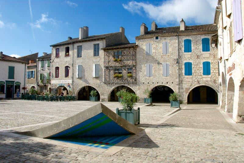 安置des Cornières洛泽尔特 免版税库存图片