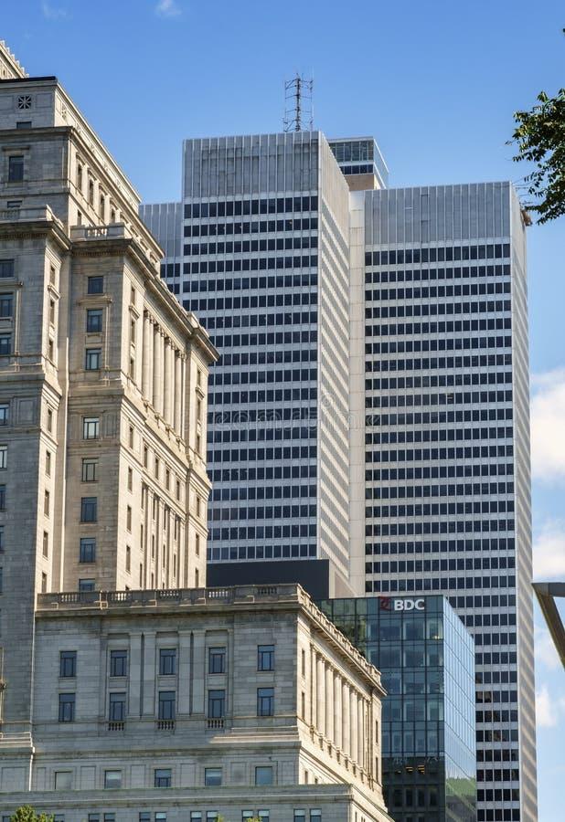 安置Ville玛里& Sunlife大厦 免版税库存图片