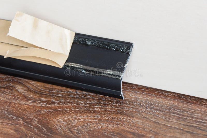 安装的避开在墙壁上 免版税库存照片