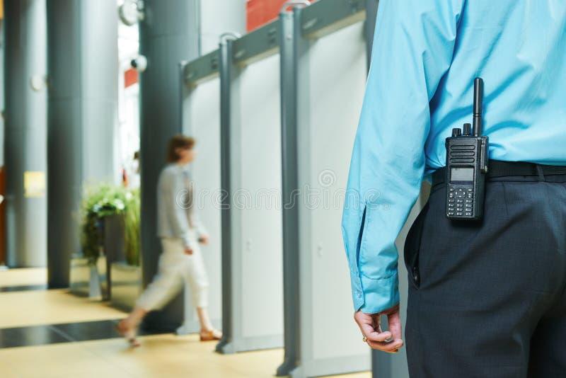 治安警卫 免版税图库摄影