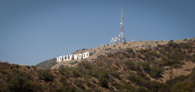 安赫莱斯・加利福尼亚好莱坞los符号 免版税库存照片