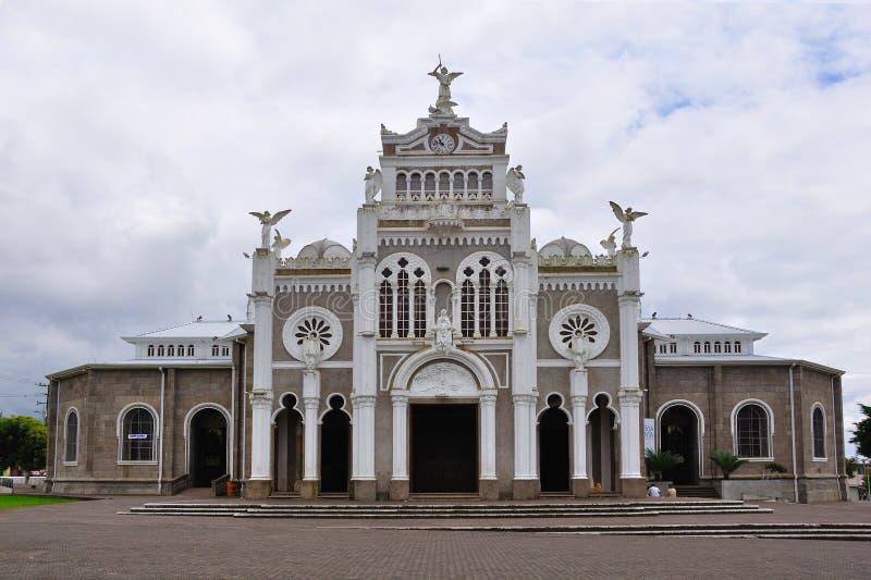 安赫莱斯・ basilica costa de los rica 图库摄影