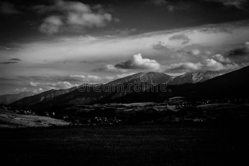 安道尔的山 库存照片