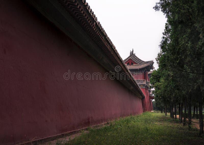 宋朝的陵墓 免版税库存照片