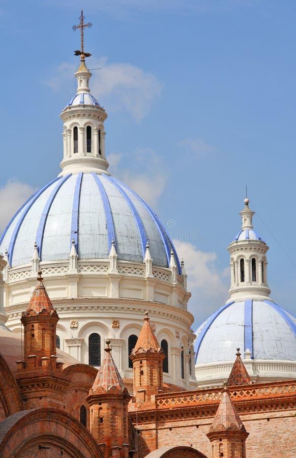 完美的构想的大教堂在Cuenca 免版税库存图片