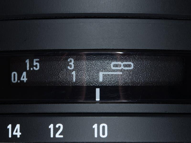 宏观照片透镜 库存照片